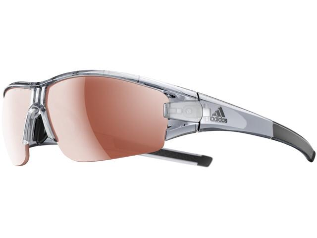 adidas Evil Eye Halfrim Okulary rowerowe szary/brązowy